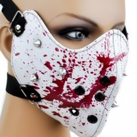 Bloody Spike Motorcycle Face Mask Horror Halloween Cosplay Anime Biker Paint Ball:Amazon:Everything Else