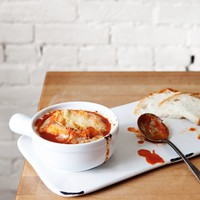 French Tomato Soup with Gruyere (Vegetarian) - Free People Blog