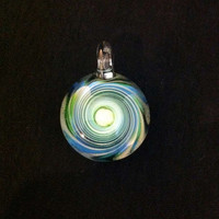 Glass Pendant Color Vortex with Perfect GLass by IllustratedSquare