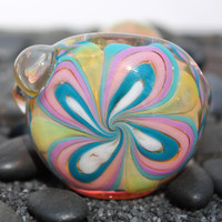 Inside out color changing glass pipe AMERICAN made