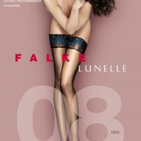 Falke 8D Peacock Top Lunelle Hold Ups - Pantyhose, Stockings and more -  MyTights.com - The Online Hosiery Store