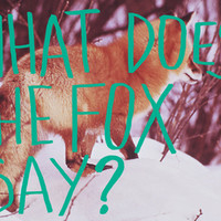 What Does The Fox Say? Art Print by Leah Flores Designs