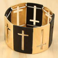 Holy Crossing Bracelet