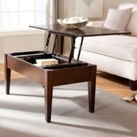 Turner Lift Top Coffee Table - Espresso:Amazon:Home & Kitchen
