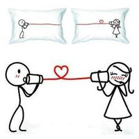 BoldLoft &quot;Say I Love You&quot; Couple Pillowcases-Romantic Valentines Gifts for Couples, Cute Valentines Day Gift Ideas, Good Couple Gifts for Valentines, Romantic Anniversary Gifts