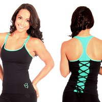 Brazilian Activewear-Sexy Workout Clothes Equilibrium Long Top LT119
