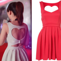 Fanewant — BACK HEART NICE DRESS