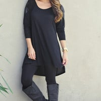 Pitch Black Top: Midnight Black | Hope's