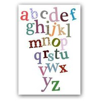 The Alphabets print by ialbert on Etsy