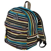 Mad Love Multistripe Backpack - Black
