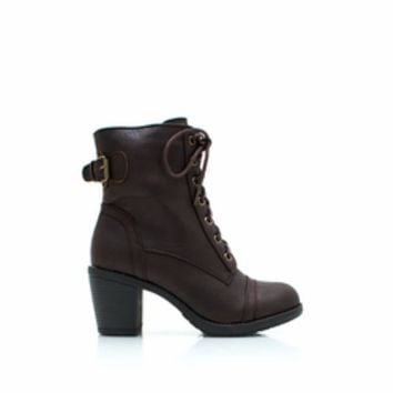 lace up logo  Lace-Up Victorian Boots - GoJane.com