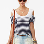 Brooklyn Stripe Tee in Clothes at Nasty Gal