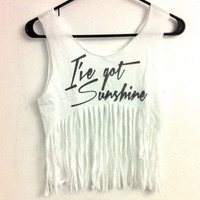 I've Got Sunshine by OfIvy on Etsy