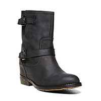 Steve Madden - DECEIVE BLACK LEATHER
