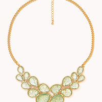 FOREVER 21 Statement Bib Necklace