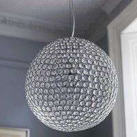 Large Sparkling Ceiling Pendant Light