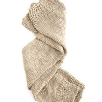 Thick Knit Leg Warmer: Charlotte Russe
