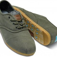 Forest Green Vegan Men's Cordones