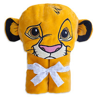 Disney Simba Hooded Towel for Baby - Personalizable | Disney Store