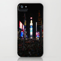 New York City Times Square  iPhone & iPod Case by colleendecon