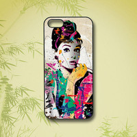 iphone 5S case,Audrey Hepburn,iphone 5C case,iphone 5 case,iphone 4 case,iphone 4S,ipod 4 case,ipod 5 case,ipod case,iphone case,phone case