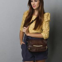 Special Attention Vegan Handbag - Brown Handbag - $27.00