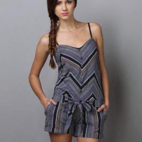 Billabong Jam On It Romper - Striped Romper - $38.00