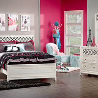 Suki White   5 Pc Full Bedroom