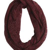 Open Weave Eternity Scarf | Shop Just Arrived at Wet Seal
