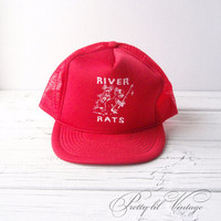 Vintage River Rats trucker hat by prettylilpieces on Etsy