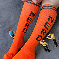 Sock Dreams » Socks » Knee Highs » Nerd Knee Highs