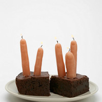 Urban Outfitters - Finger Candle - Pack Of 5