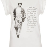 James Dean Tee By Tee And Cake - Jersey Tops  - Clothing