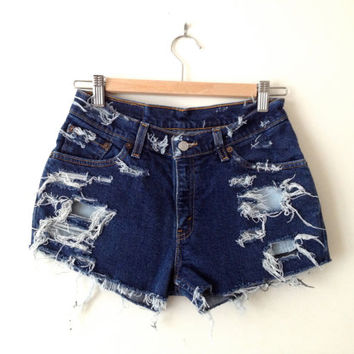 Levi Strauss Shorts  Size 26 by MFjewels on Etsy