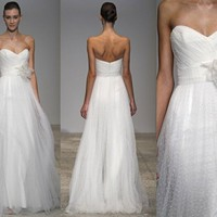 CHRISTOS Zinina dress inspiration | atelierTAMI - Wedding on ArtFire