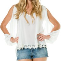LOVERS + FRIENDS DAYDREAM BLOUSE | Swell.com
