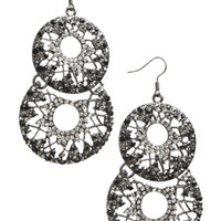 2 Open Cricle Drop Earrings | Shop Jewelry at Arden B