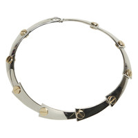 2 Tone Bolt Choker | Shop Jewelry at Arden B