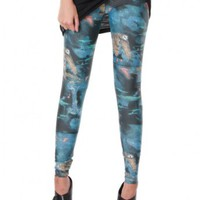 Cosmic Owl Leggings by Youreyeslie.com Online store> Shop the collection