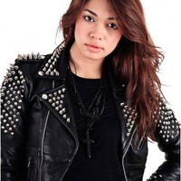 Stud Biker Jacket by Youreyeslie.com Online store> Shop the collection
