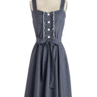 About the Musician Dress in Dots | Mod Retro Vintage Dresses | ModCloth.com
