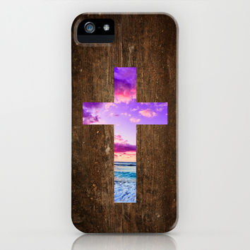 Isaiah 53 - Easter | The cross iPhone & iPod Case by Pocket Fuel