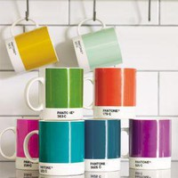 Pantone Mugs, Tea and Coffee | Graham and Green Kitchen