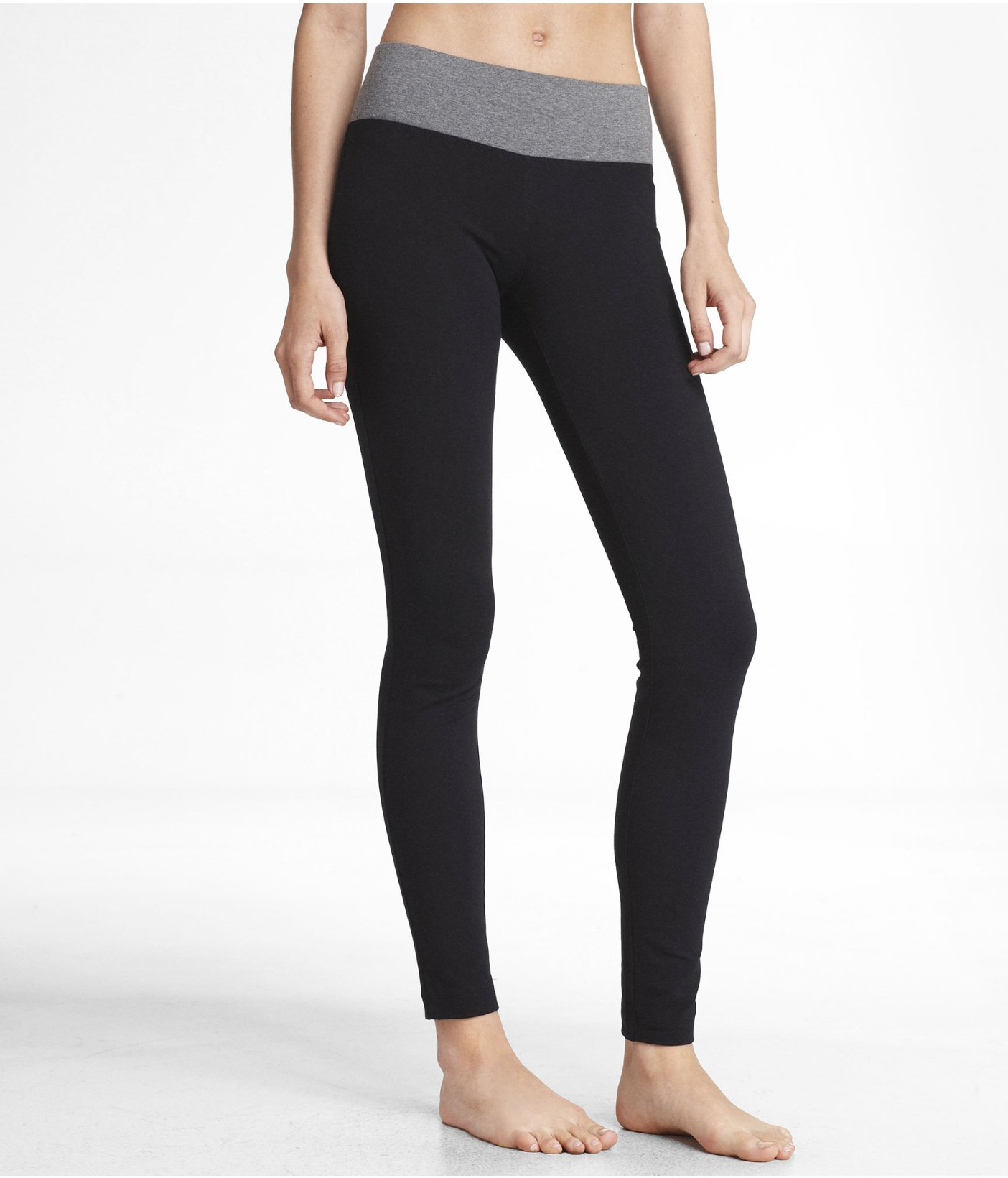 LOVE EXPRESS YOGA CROP PANT From EXPRESS