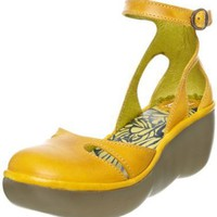 FLY London Women's Bessie Ankle-Strap Sandal