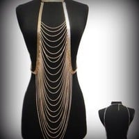 Drape Body Chain