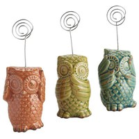 Owl Photo Holders