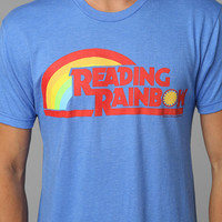 Reading Rainbow Tee- Blue