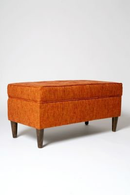Jet Set Storage Bench - Tweed
