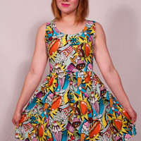 Junkfood Dress MADE TO ORDER